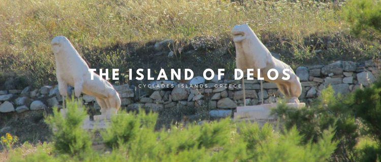 The Island of Delos, Greece