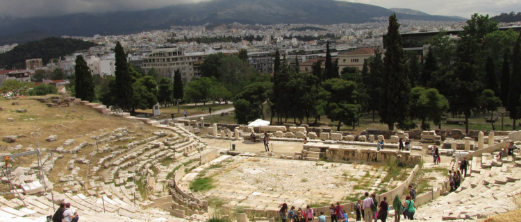 The Theatre of Dionysus Eleuthereus: A Hillside Excursion | Her Life in Ruins